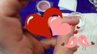 7.99 polygel?!  MIG Nails and Beauty.  Acrygel review and tutorial