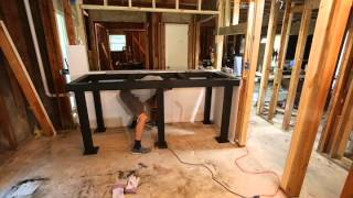 Anchoring An Aquarium Stand To The Floor