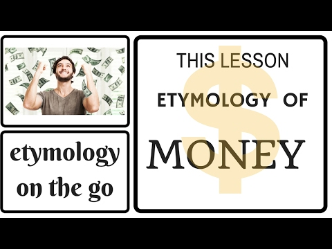 ETYMOLOGY OF MONEY - etymology on the go - What is the etymology of money?