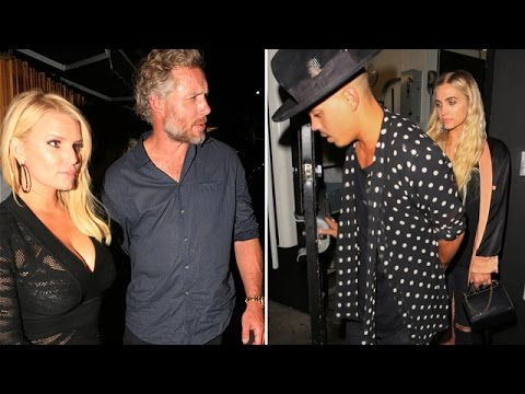 Jessica Simpson And Eric Johnson Stay Out After Younger Sis Ashley And Hubby Leave Them