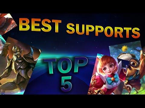 Top 5 Best Support Heroes | Mobile Legends: Bang Bang
