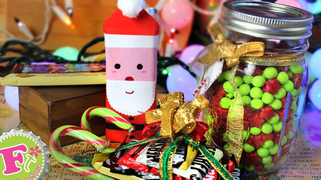 Arreglos de chocolate 3 ideas detalles para navidad for Detalles de navidad