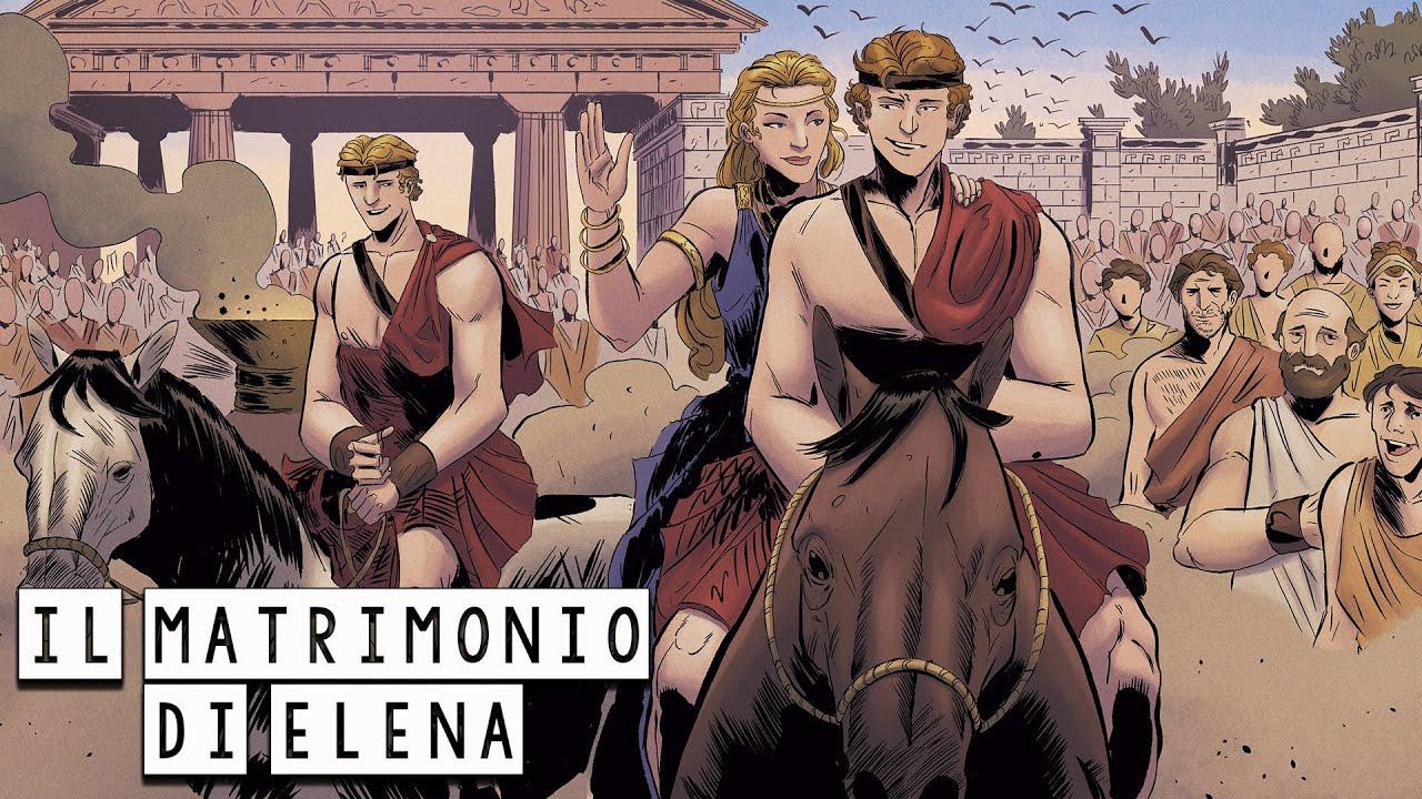Il matrimonio di Elena e Menelao - La Grande Alleanza - La Saga della Guerra di Troia #03 Mitologia