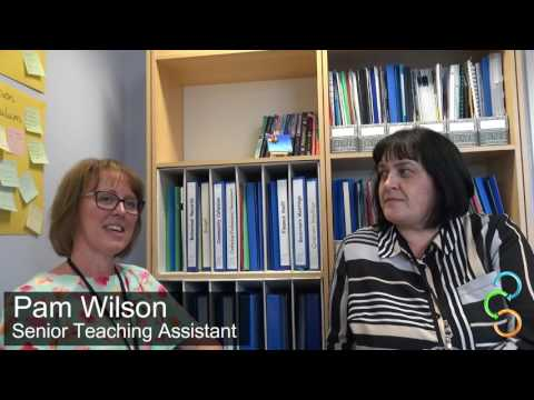 Pam Wilson & Melaney Cox,  The Richmond School, discuss the Mobilise Project