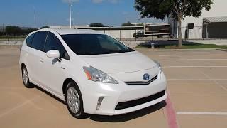 2012 Prius V Pearl White Texas Clean 214 228 4999