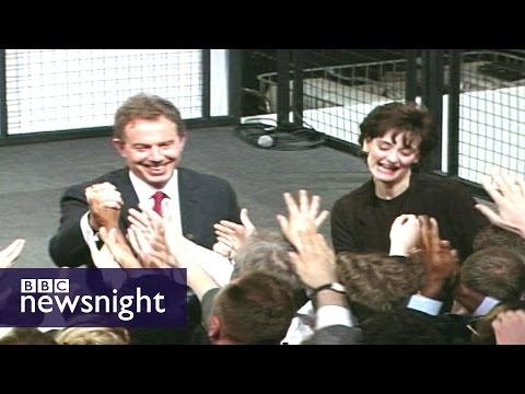 "Robert Harris on Tony Blair: ""He was a one-man government"" - BBC Newsnight"