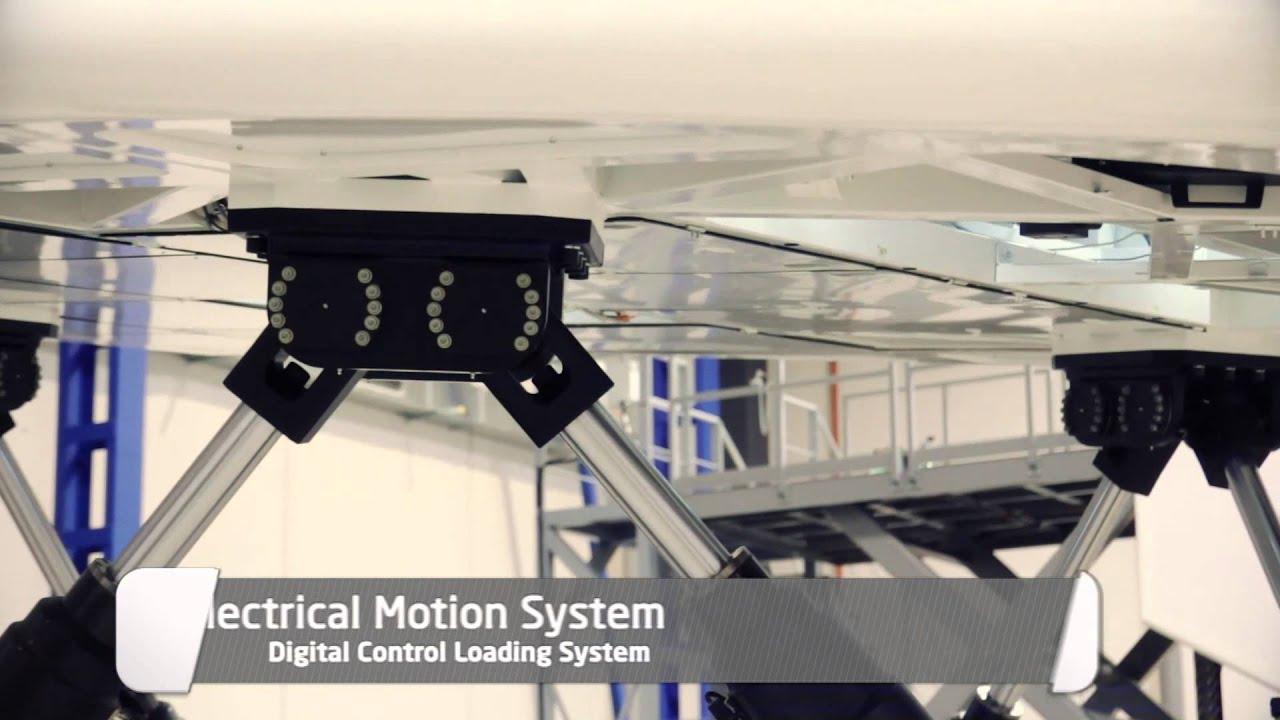 Airbus 320 Full Flight Simulator Level D