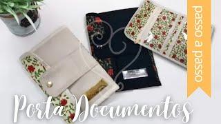 Passo a Passo: Porta Documentos – By Fê Atelier