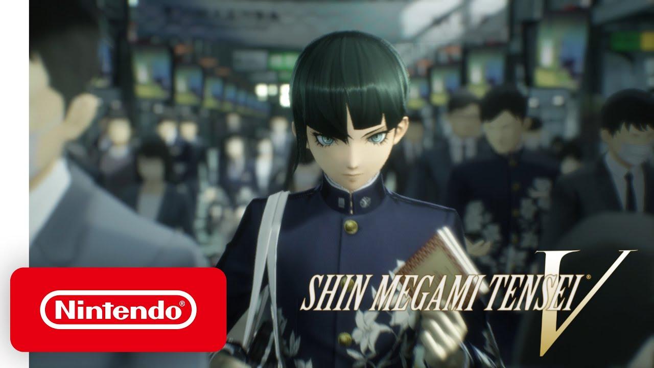 Shin Megami Tensei V - Coming to Nintendo Switch in 2021 - YouTube