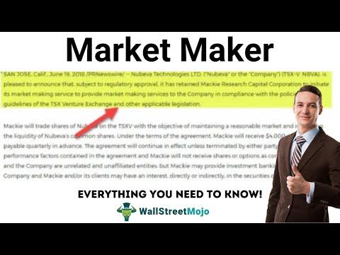 Market Maker Broker