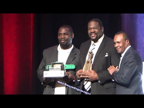 RIDDICK BOWE NEVADA BOXING HALL OF FAME SPEECH - EsNews Boxing
