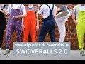 Kickstarter - Swoveralls 2.0 = Sweatpants + Overalls, Upgraded