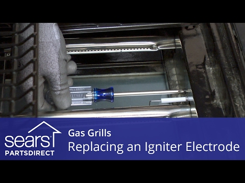 Replacing An Igniter Electrode On A Gas Grill