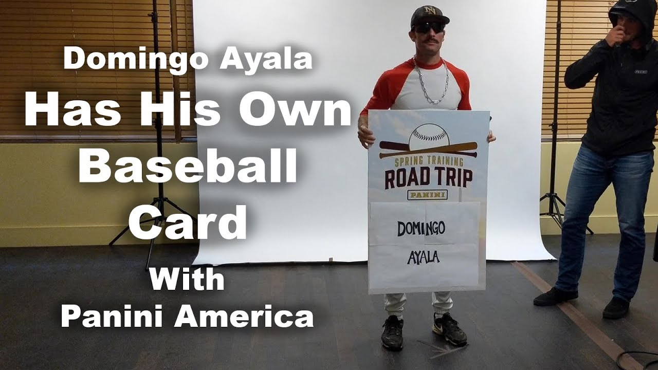 Domingo Ayala Has His Own Baseball Card With Panini America