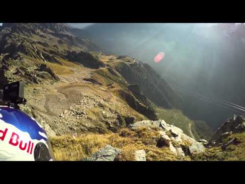Jokke Sommer speed flies insane wingsuit line from new video game Far Cry 4 - in real life!