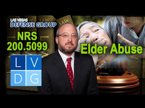 "What is ""elder abuse"" in Nevada law?"
