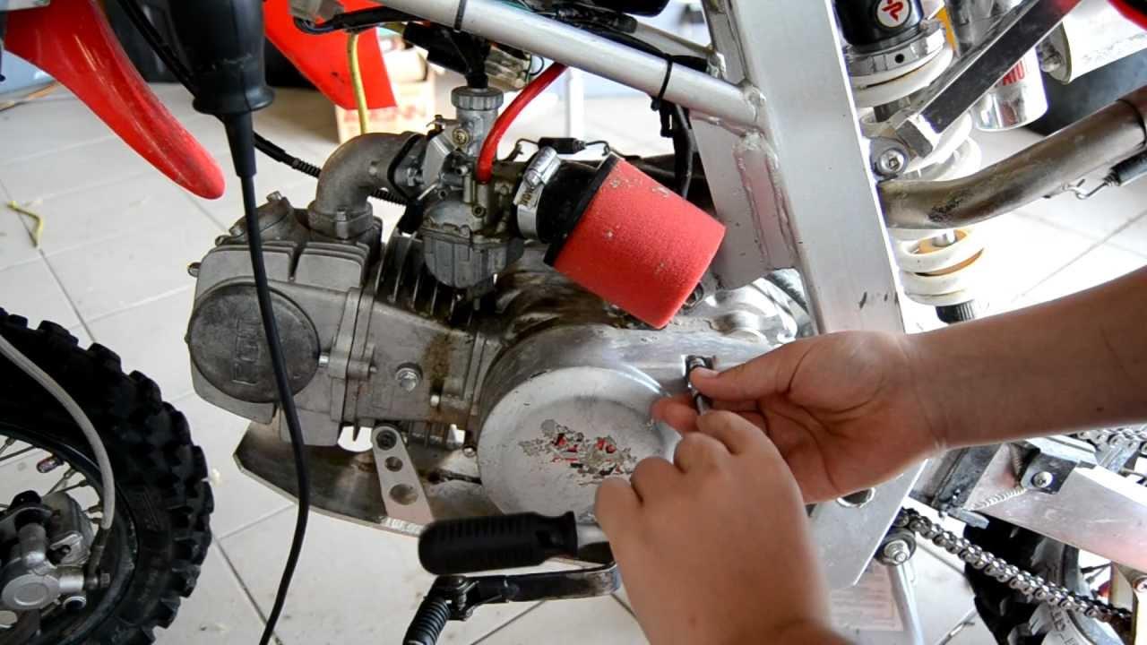 Regolazione Gioco Valvole Motore 4 Tempi Parte 1 2 Pitbike