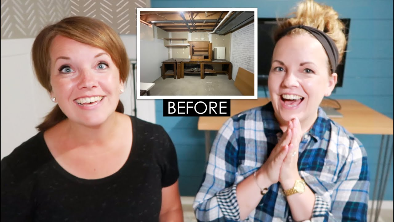 Storage Room to Office Makeover! Easy DIY Projects & Budget Friendly!
