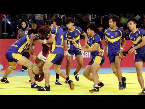 Kabaddi World Cup 2016: Thailand rally late, set India semi-final date