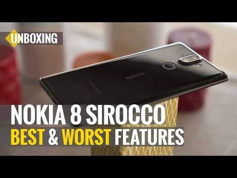 Nokia 8 Sirocco Unboxing and Best and Worst Features