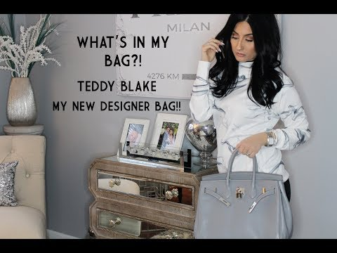 TEDDY BLAKE    CATY 14    BY BUTI    WHAT'S IN MY BAG