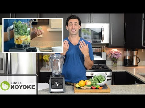 How to Make Green Juice in Your Blender