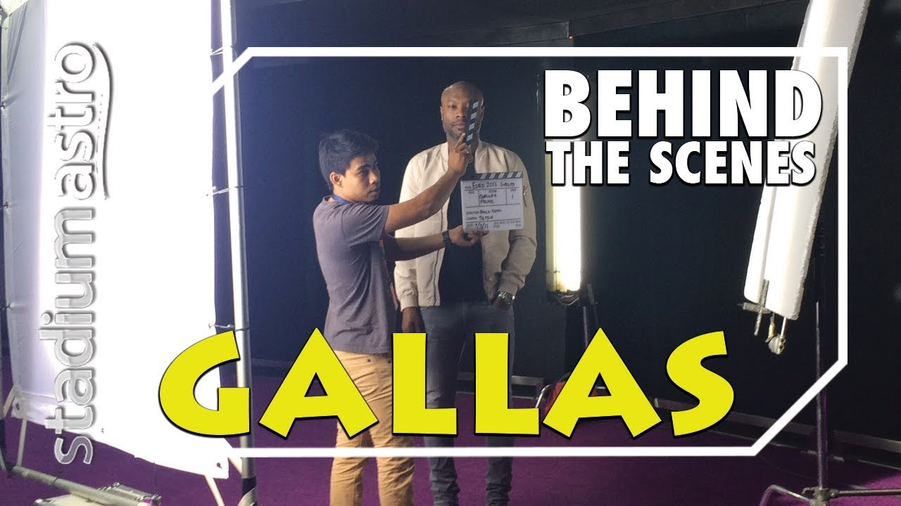 William Gallas - Behind The Scenes | Express | Astro SuperSport - YouTube
