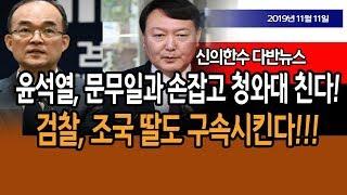 (다반뉴스) 윤석열, 문무일과 손잡고 청와대 친다!!! / 신의한수 19.11.11