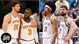 New York Knicks and Brooklyn Nets are 'two bad franchises' - Scottie Pippen | The Jump
