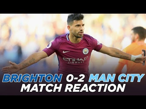Brighton 0-2 Man City | MATCH REVIEW