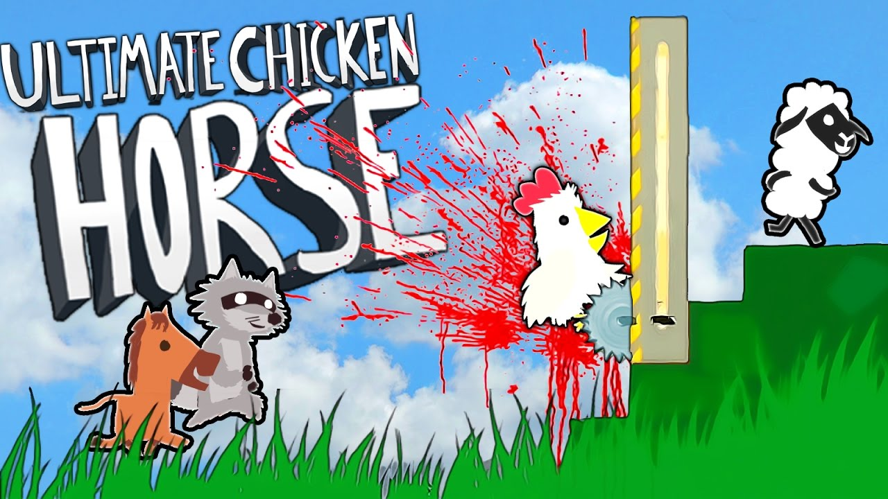 SAVE THE ANIMALS!! Let's Play Ultimate Chicken Horse ...
