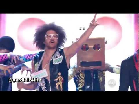 LMFAO – Party Rock Anthem / Sorry For Party Rocking / Sexy and I Know It HD (Live Billboard 2012)