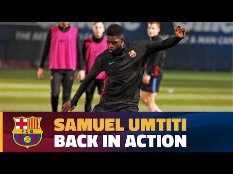 Samuel Umtiti receives medical clearance
