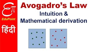 Avogadro's Law | video in HINDI