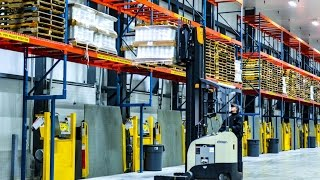ESI Group converts Warehouse to a Refrigerated Food DC for US Foods