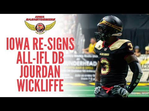 Barnstormers Re-Sign All-IFL DB