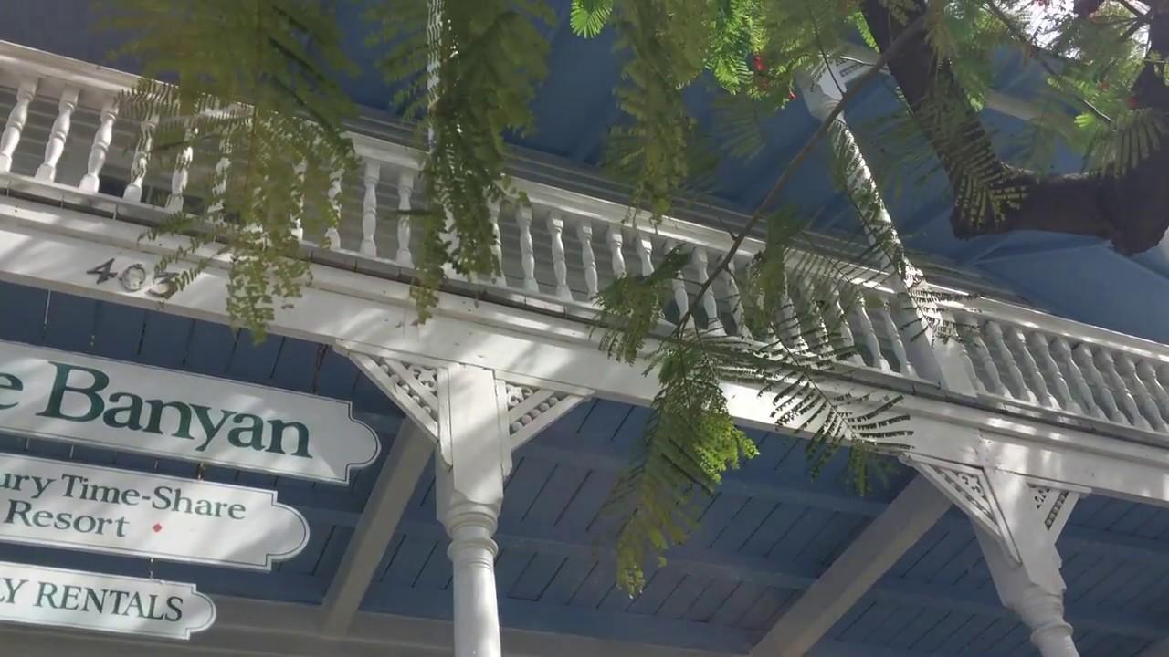 key west banyan resort 2 bedroom townhouse w porch youtube. Black Bedroom Furniture Sets. Home Design Ideas