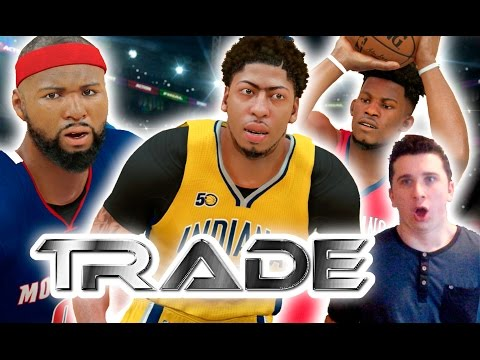 TRADING AWAY THE WHOLE TEAM CHALLENGE | NEW ORLEANS PELICANS | NBA 2K17