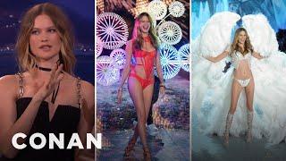 Behati Prinsloo On The Evolution Of Victoria's Secret Angel Wings  - CONAN on TBS