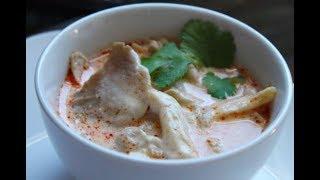 how to cook Thai tom ka