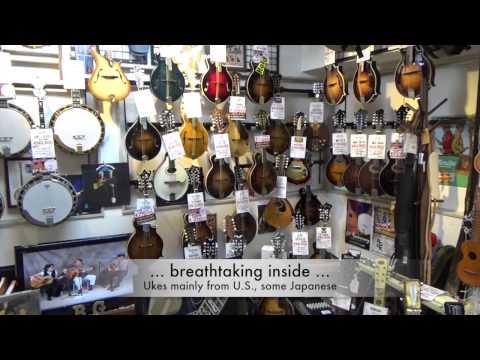 Uke Paradise in Tokyo: Ukulele Shops at Ochanomizu