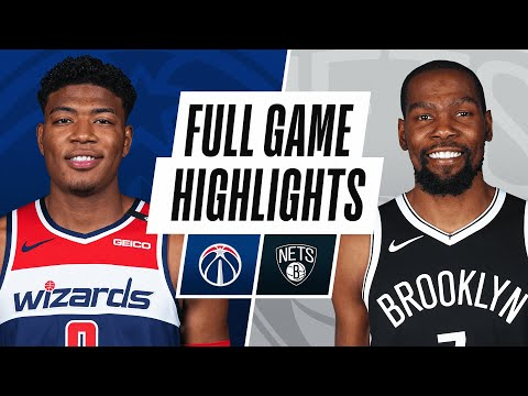 WIZARDS at NETS | FULL GAME HIGHLIGHTS | December 13, 2020