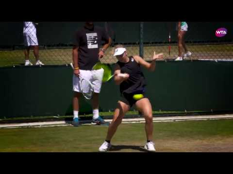 Daria Gavrilova Practice | Wimbledon 2018