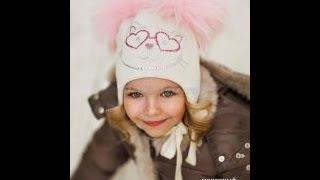 Зимние Вязаные Шапки для Девочек - 2019 / Winter Knit Hats for Girls