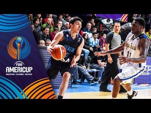 Virgin Islands v Argentina - Highlights - FIBA AmeriCup 2017