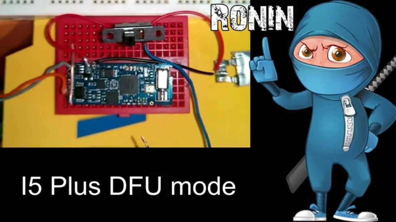 how to get out of dfu mode without restore