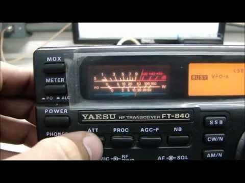 YAESU FT-840 With Low Gain Reception - ALPHA TELECOM