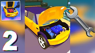 Repair My Car (by Rollic Games) Gameplay Walkthrough 3 to 5 Weeks (Android)
