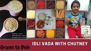 Idli Vada Chutney in USA | Grains to Breakfast