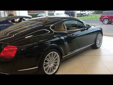 Bentley Continental GT Speed (2009 Model Year)